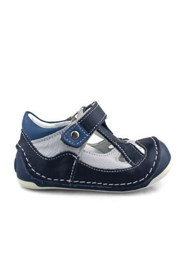 Cici Bebe Ayakkabı Deri Erkek Çocuk Sandalet Lacivert